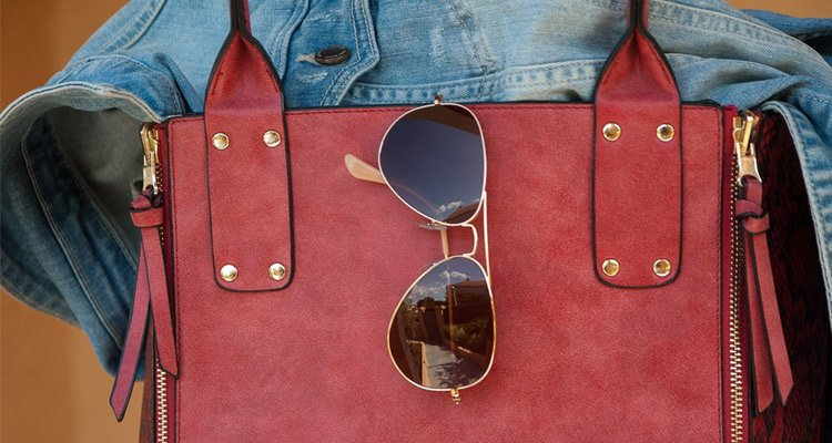 Sunglasses Hang On Bag