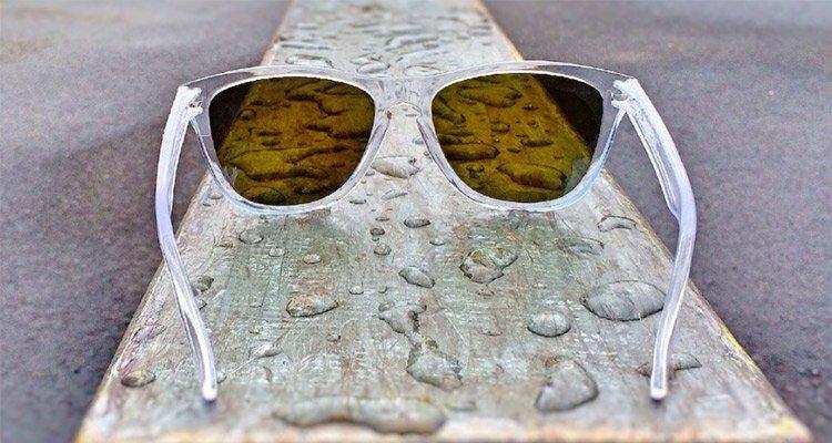 Clear Plastic Sunglasses