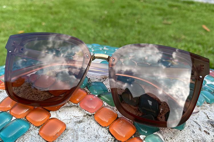 sunglasses on the stone